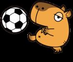 カピバラとサッカーボール.png
